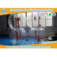 China Top TPU Inflatable Bubble Ball Soccer Bumper Kids / Adults Body Zorb Football Suit wholesale
