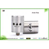 Cheap 12 Air Holes Rebuildable Atomizer Tank Airek Rda Removable AFC Ring wholesale