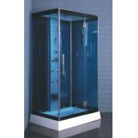 Cheap 6mm blue toughened glass shower room with computer control MJY-8049 wholesale