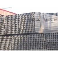 Buy cheap 20# Q195 Q235 Carbon Steel Rectangular Tubing , Cold Drawing Thin Wall Steel from wholesalers