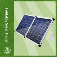 Cheap 140W poly foldable solar panel for camping solar tent wholesale