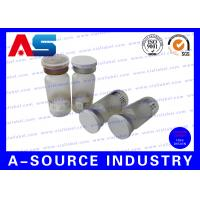 Buy cheap Custom 15ml / 30ml Small Glass Vials With Dropper Flip Off Lids And Crimpers from wholesalers
