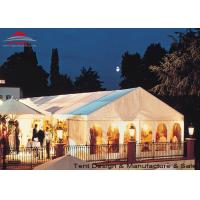 China White Aluminum Frame Big Structure Retail Tent for Weekend Fairs wholesale