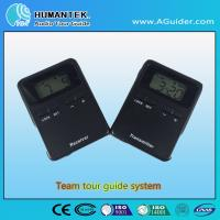 China 008A Hot Design Portable Wireless Voice  Transmitter  Mini  Black Team Audio Guide System wholesale