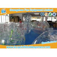 China 0.7mm - 1.0mm TPU Transparent Inflatable Bubble Ball Bubble Zorb Ball wholesale
