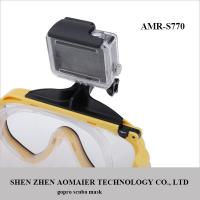 Cheap 2015 New High Quality Professional GoPro Scuba Diving Snorkeling Silicone Mask wholesale