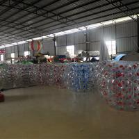 Buy cheap 1.5M Transparent  Inflatable Bumper Bubble Ball /  Inflatable Bumper bBall  In The Grass from wholesalers