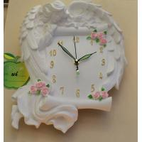 Gypsum wall lamp- Girl's Book & Clock