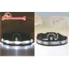 Cheap Durable Led Bright Lights Flashing Nylon Dog Collar With Custom Printing Of Heat Transfer wholesale