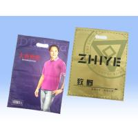 Retail Large Sealable Plastic t Shirt Bags , Recycled Plastic Bag Packaging