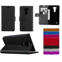 Cheap Premium PU Leather Flip Wallet LG Cell Phone Covers Book Style For LG G3 D855 wholesale