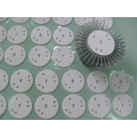 Cheap High Power LED Lights Thermal Gap Fillers , Glass Fiber Backing Conductive Silicone Rubber wholesale