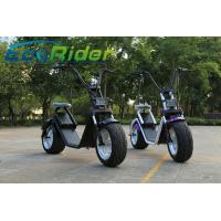 40-50KM/H 2 Wheel Electric Scooter With Big Wheels / Fashion City Scooter With Brushless Hub Motor