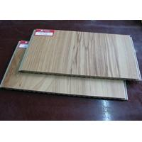 Cheap Eco Friendly WPC Wall Cladding / Bathroom Wall Cladding For Shower wholesale
