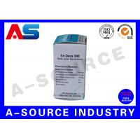 Buy cheap Pharmacy Paper Carton 10ml Vial Boxes Custom Vinyl Labels For Laboratory Vials from wholesalers