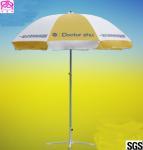 China Round Shape Outdoor Advertising Beach Umbrellas Aluminum Pole With Coated wholesale