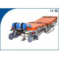 Cheap Stainless Steel Ambulance Stretcher Auto Loading for Outdoor Rescue wholesale