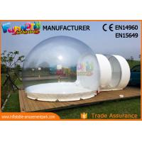 China Transparent Advertising Inflatables / Inflatable Bubble Room 8m Diameter wholesale
