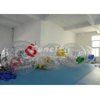 China Customized Inflatable Zorb Ball For Wonderful Color With PVC/TPU Material wholesale