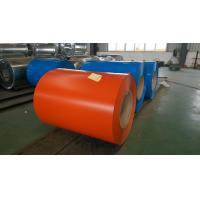 China Customized Zinc coating Color Coated Steel Coil SPCC , SGHC Grade 0.23  ~ 1.0mm Thickness wholesale