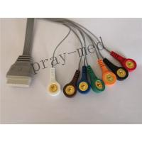 China Grey Color ECG Cables And Leadwires IEC Type  With TPU Material SE-2003 wholesale