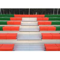 China Outdoor Permanent Stadium Seats With Aluminum Seat Plank / Double Deck wholesale