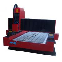Cheap good quality syntec control vacuum table 3.0KW watercooling cnc stone carving machine wholesale