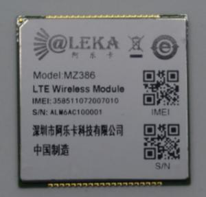 High Speed Wireless 4G LTE Module MINI PCIE CAT4 Support Industry Customization