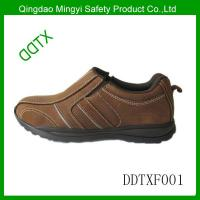 Cheap Nubuck leather safety shoes wholesale