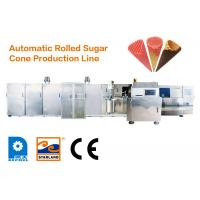 China Automatic Ice Cream Cone Production Line With Horizontal Rolling System wholesale