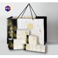Cheap Natural Color Paper Brocade Gift Box , Eco-Friendly Straw Household Paper Towels wholesale