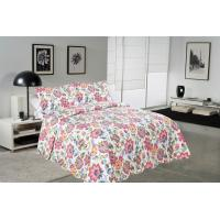 Buy cheap Cockscomb Flower Double Bed Quilt Covers , Microfiber Fabric Quilt Cover Sets from wholesalers