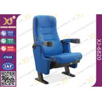 Fireproof Gravity Retune Cinema Style Chairs Fold Up Cup Holder For Music Theatre