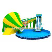 Quality Multi Color Metal Frame Pools With Galvanized Steel Pipes Easy Assemble for sale