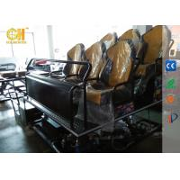 Electric Motion Movie Theater Seats Strong Vibration System For 5d 7d Theater