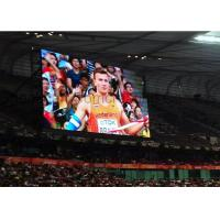 Buy cheap Full Color programmable Stadium LED Display indoor Aluminum Synchronization IP20 from wholesalers