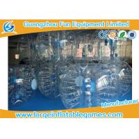 China Clear 1.2m / 1.5m Inflatable Human Ball Bumper Zorb Football With 0.7mm TPU wholesale