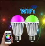 Hot sale E27 7W Milight Wireless RGBW LED Light Bulb