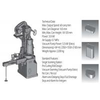 Single Seamming Station Can Seamer Machine High Precision For Meat Canning