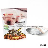 Cheap High Temperature Zipper Dog Food Packaging Retort Pouches, Stand Up Food Pouch wholesale
