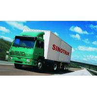 Cheap SINOTRUK STEYR 371HP 15 Ton Prime Mover Truck in Green , Manual Unloading Diesel Trucks , Global Machine wholesale