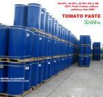 Crop 2016 100%  fresh tomato paste/ 28~30%, 30~32%, 36~38% tomato paste in drum