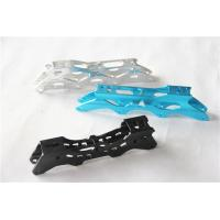 Buy cheap Customized colorful Aluminium alloy extrusion parts for ice skates blade support from wholesalers