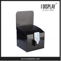 Cheap CDU-004 collecting competition entries completed surveys business cards cardboard Ballot Boxes wholesale