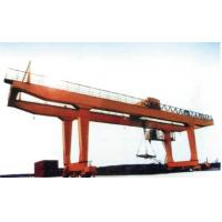 China 40t Double Girder Transtainer Gantry Electric Overhead Travelling Crane for Project wholesale