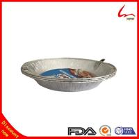 Disposable Refined Household Aluminum Foil Plate With Cover