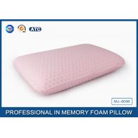 45D Bread Polyurethane Traditional Memory Foam Pillow With Washable Zippered Cover