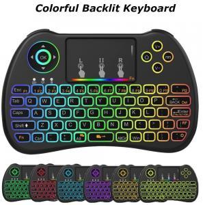 2.4G Mini Wireless Keyboard , Wireless Gaming Keyboard Lithium - Ion Battery 300mAh