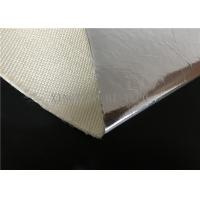 China Thermal Insulation Fire Resistant High Silica Fabric Aluminum Foil Coated wholesale