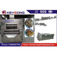 Cheap Stainless Steel Corn Flakes Making Machine , Grain Processing Equipment wholesale